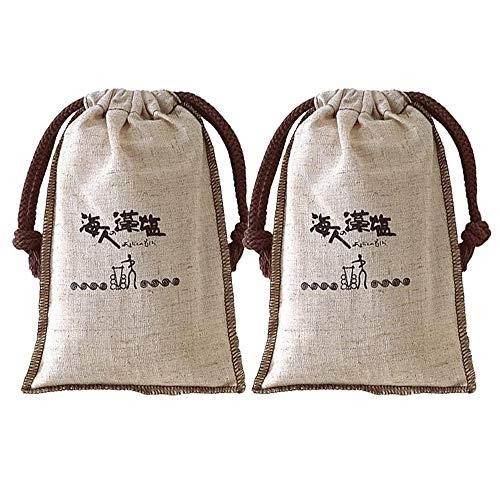 海人の藻塩 布袋 300g×2個