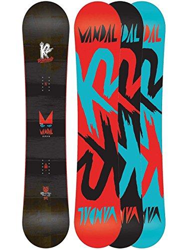 K2 Jungen Snowboard Vandal WIDE Freestyle Baseline, mehrfarbig, 145