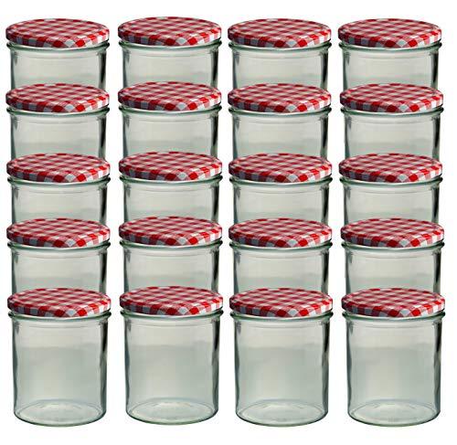 Sturzgläser 20 Sturzgläser 350 ml Marmeladengläser Bild