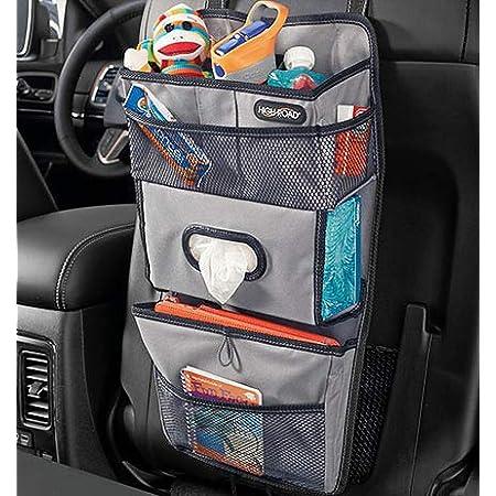 Samfox Multi-use Trunk Cargo Seat Back Storage Bag Organizer Net Pocket Porte-bagages pour voiture Sac de rangement