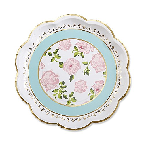 Kate Aspen Tea Time Whimsy Paper Plates (Set of 8)
