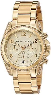Michael Kors Mk5166 de cuarzo, correa de acero inoxidable color oro