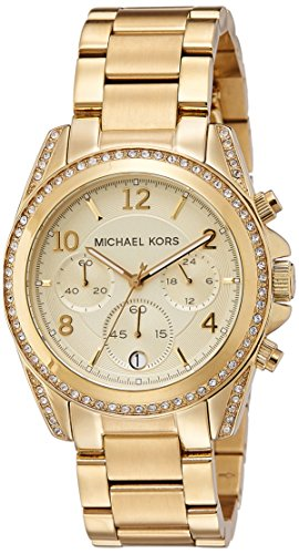Michael Kors Golden Runway Watch with Glitz MK5166: Watches