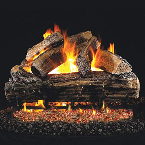 Peterson Real Fyre 24-inch Split Oak Gas Logs Only No Burner