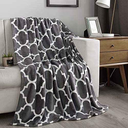NC Flannel Fleece Blanket, Throw Soft Warm Fluffy...