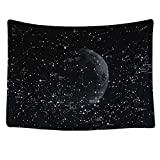 Huacat Wandteppich Tapeslany Starry Himmel Wandteppiche Home Wanddekoration Wandbehang Psychedelic Tapisserie Kunstzimmer Wand Tagesdecke Sommer Handtuch Badetuch Strandmatte