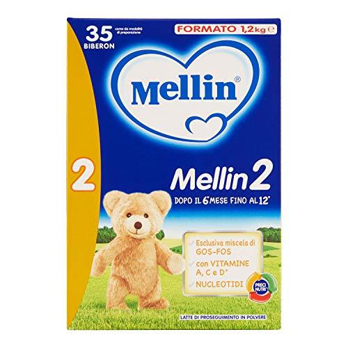 Mellin 2 Latte Polvere 1,2kg