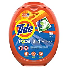 Tide PODS consist of up to 90% active ingredients, so you can be sure that you're paying for clean not for water 10x the cleaning power (Stain Removal of 1 dose vs. 10X doses of the leading liquid bargain brand) Reveal our brightest clean yet for bri...