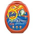 Tide PODS Laundry Detergent Soap PODS, High Efficiency (HE), Original Scent, 96 Count