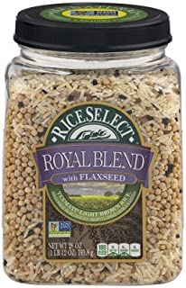 RiceSelect Royal Blend with Flaxseed, 28 oz (Pack of 2)