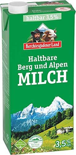 Berchtesgadener Land Haltbare Berg und Alpen Milch 3.5% Fett, 1 l
