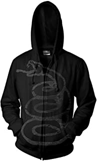 Metallica 'Black Album Burnished' Zip Up Hoodie