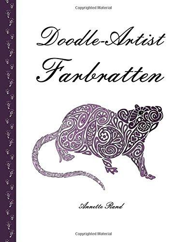 Doodle-Artist - Farbratten: Ein Ausmalbuch für Erwachsene