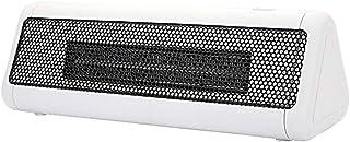 HBHHB Calefactor Pequeno 2 Modos De contra Viento Poco Ruido Bajo Consumo De Energía Doble Protección De Seguridad para Cuarto/Baño/Oficina 260X90x85mm,Blanco