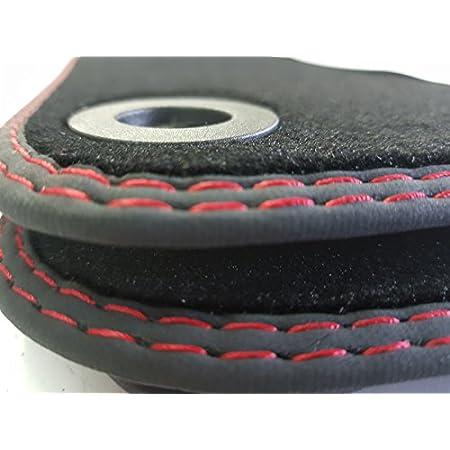 Styling4yourcar Fußmatten Für Golf 5 V Vi 6 Doppelnaht Rot Rot Automatten Höchste Qualität Velours Auto