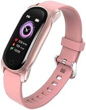 Mannen Vrouwen Smart Horloge Bloeddruk Smart Band Hartslag Sport Fitness Armband Waterdicht Dames Smartwatch voor Android ...