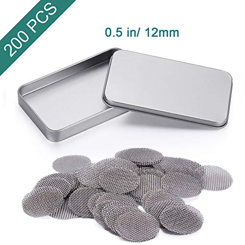 1//2 inch Stainless Steel Pipe Screens 100 count