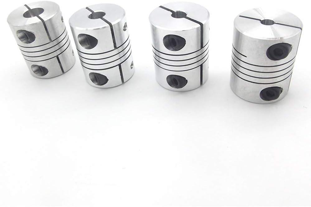 SHENYI Manufacturer OFFicial shop 4PCS 8X10MM D25L30 Aluminum Flexible Axis OFFicial Z Coupling for