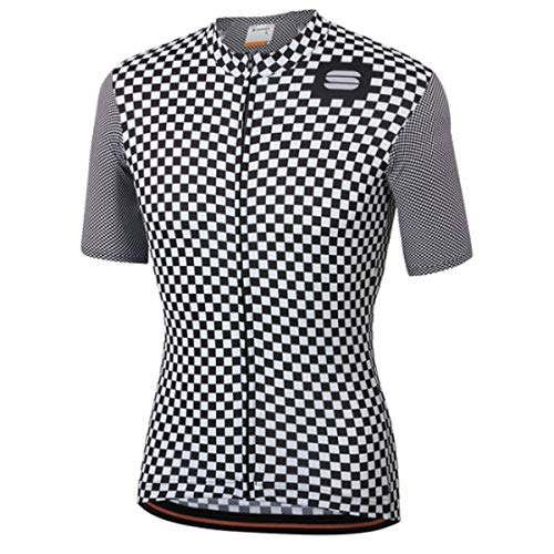Sportful Checkmate Jersey - White/Black