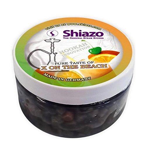 Shiazo 100 gr. X on the Beach - Piedra Granulado - Sin nicotina Juego de tabaco 100gr