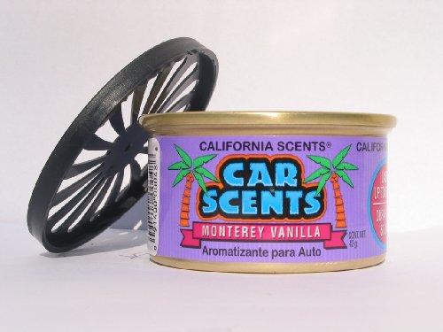 California Car Scents Duftdose für das Auto. Duftrichtung: Monterey Vanilla (Vanille)