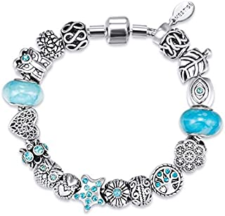 Mestige Bracelet with Swarovski Crystals for Women, MSCB3095