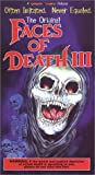 Faces of Death 3 [VHS]