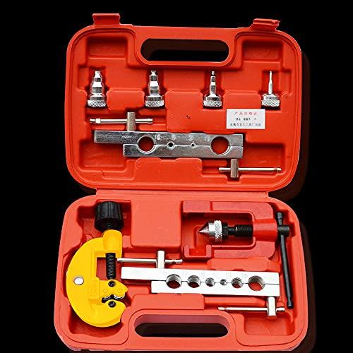 lifBetter Espansore, Kit di Svasatura Tagliatubi da 3-19 MM, Dispositivo di Svasatura Tagliatubi Freno per Attrezzo di Svasatura Tubi in Rame