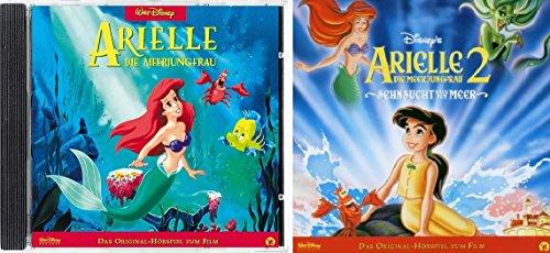 2 CDs - Arielle die Meerjungfrau - Das Original Hörspiel zum Film - 1+2 im Set - Deutsche Originalware [2 CDs]