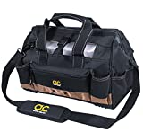 CLC Custom Leathercraft 1534 16 in. Tote Bag with Top Plastic Tray, 23 Pocket