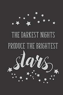The Darkest Nights Produce The Brightest Stars: 2020 Monthly Goal Planner & Vision Board Journal - Men & Women Entrepreneu...