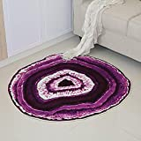 work out Alfombra de Piel sintética Home Alfombra Alfombra Shaggy Alfombra Pelo Largo alfombras Salon Grandes Alfombra Cocina-Madera # 5_Los 60cm