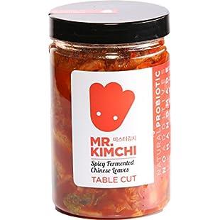 330g Freshly UK- made Kimchi based on Authentic Korean Recipe (Natural Fermentation, Natural Probiotics, No Artificial Additives)