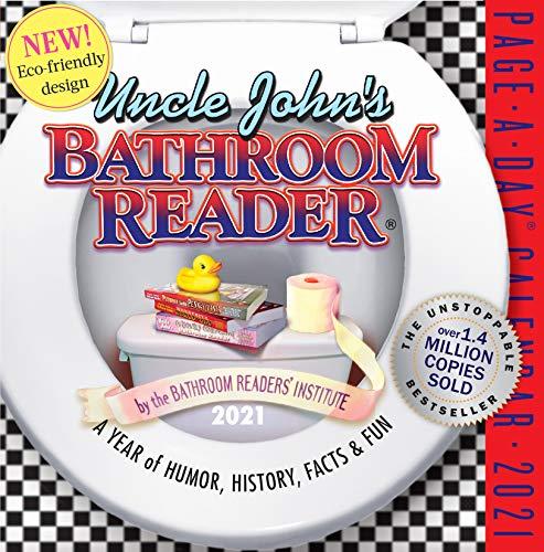 Uncle John's Bathroom Reader Page-A-Day Calendar 2021