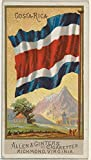 ' – Costa Rica from Flags of All Nations Series 2 (N10)