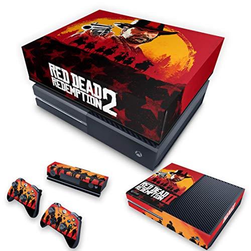 Capa Anti Poeira e Skin para Xbox One Fat - Red Dead Redemption 2