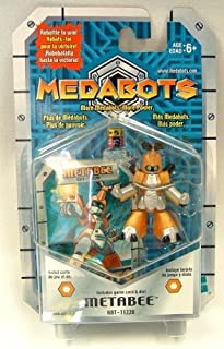 METABOTS - METABEE FIGURE (KBT-11220) - Includes poster, game card & die! (2001)