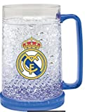 Real Madrid FC Freezer Mug - Freezer Tankard - Official Real Madrid Product - Great for Club Fans - Men and Women Love This Mug
