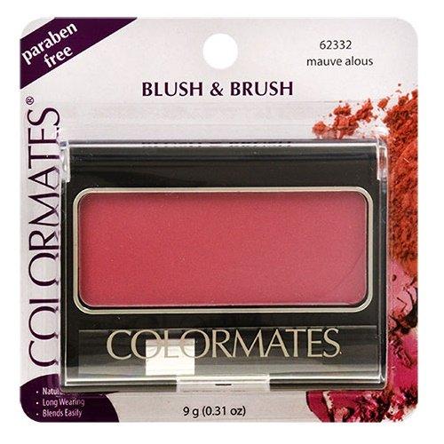 Colormates Blush amp Brush Mauve alous 031 Ounce 9g