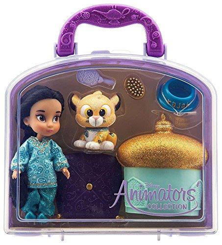 Disney - Disney Animators' Collection Jasmine Mini Doll Play Set - 5'' - New by Disney