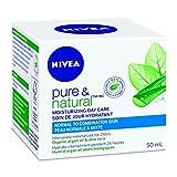 NIVEA Pure & Natural Moisturizing Day Care (50mL), NIVEA Face Cream for Normal