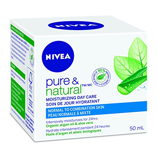 NIVEA Pure & Natural Moisturizing Day Care 50ml