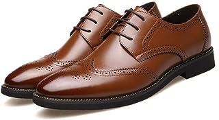 [モリケイ] ブローグ ビジネスシューズ 外羽根 メンズ 紳士靴 手軽 おしゃれ 黒 ブラウン カジュアルシューズ ウィングチップ 歩きやすい 柔らかい 幅広 取外せるインソール 就活 冠婚葬祭 オフィス 革靴