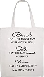 Great Martin Canvas Tote Bag Double Bread Salt Wine Sign It'S A Wonderful Life Signcolor