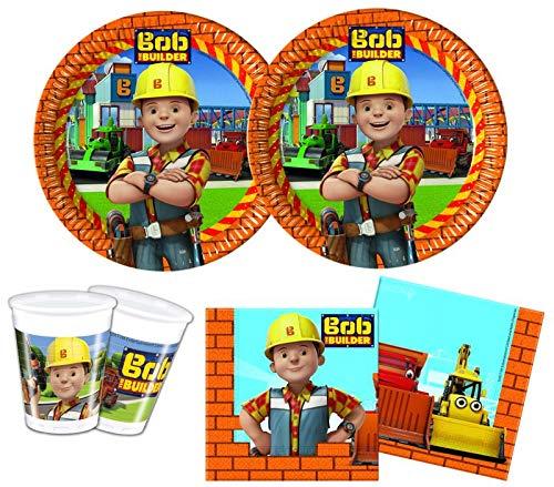 36 Teile Bob der Baumeister Geburtstag Party Deko Set für 8 Kinder