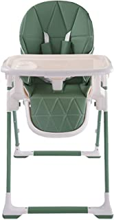 ZXH Highchairs Folding Baby High Chair,Mamas & Papas Adjustable Baby Highchair Removable Tray with 7 Heights and 5 Adjustable Positions Seat - Multiple Colour (Color : C)