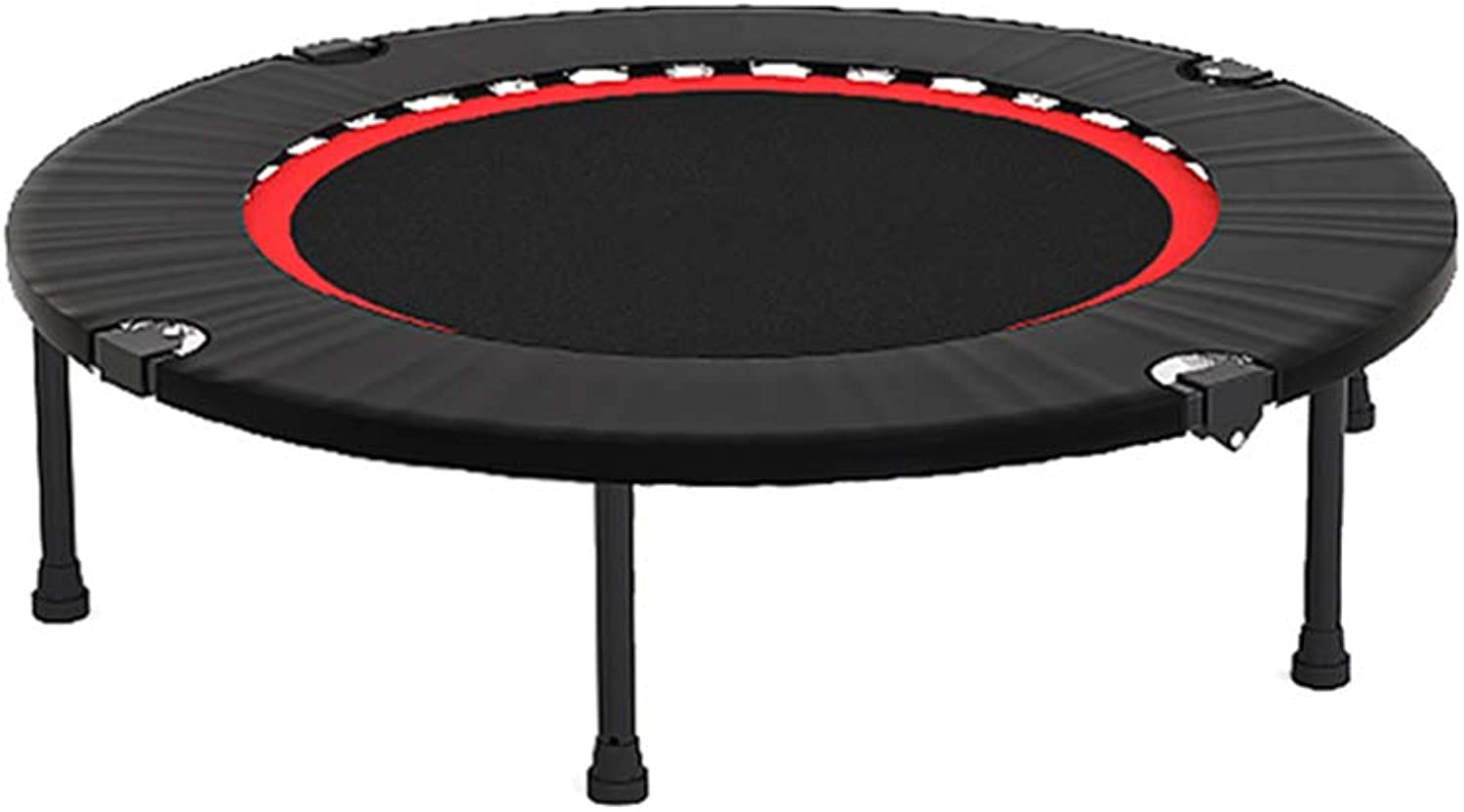Folding 40 Inches Trampoline, with Safety Pad, for Indoor Garden Workout Cardio Training Adults  LoadBearing 250kg