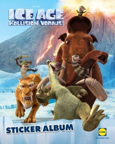 Lidl ICE AGE Sammelalbum Sticker 2016 (Album leer)