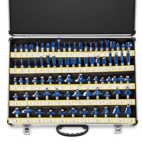 Neiko 10115A Premium Tungsten Carbide Router Bits