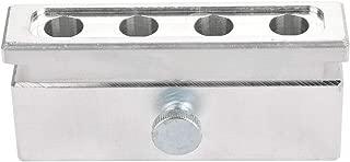 Qiterr 4 Cavities Lipstick Mold Aluminum Alloy Maker Tool for DIY Lip Balm(Single Use)